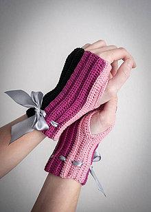 Rukavice - Elegantné rukavičky - 10249596_