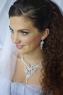 Sady šperkov - Svatební souprava Vanda - 10248961_