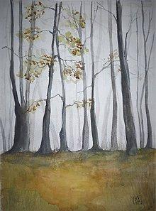 Obrazy - Jesenná krajinka - 10248701_