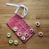 Hračky - Piškvorky ovocie - 10249071_