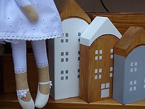 Dekorácie - Sada domčekov 3 ks - 10249956_