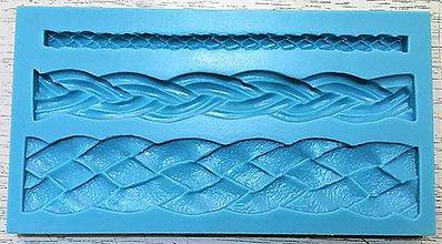 Pomôcky/Nástroje - Silikónová forma - pletence 3 ks - 10251469_