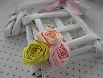 Dekorácie - Roztomilý domček s ružičkami - 10251353_