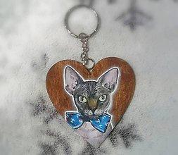 Kľúčenky - Personalizovaná maľovaná kľúčenka - 10251575_