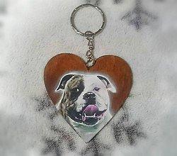 Kľúčenky - Personalizovaná maľovaná kľúčenka - 10251591_