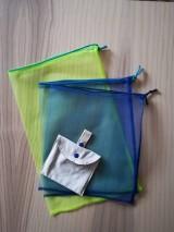 Nákupné tašky - Nákupná súprava vreciek na zeleninu - basic (Blue) - 10251105_