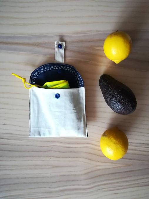 Nákupná súprava vreciek na zeleninu - basic (Blue)