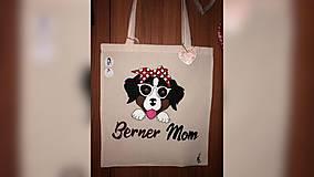 Iné tašky - ♥ Plátená, ručne maľovaná taška ♥ - 10249842_