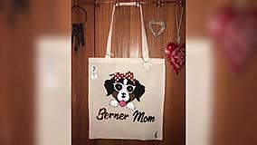 Iné tašky - ♥ Plátená, ručne maľovaná taška ♥ - 10249844_