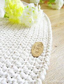 Úžitkový textil - háčkovaný koberec - 10250426_