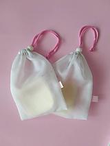 Úžitkový textil - Sada odličovacích látkových tampónov - 10252278_