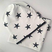 Detské súpravy - baboo stars white set - 10249753_
