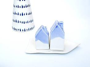 Nádoby - Korenička, soľnička set  dom - 10250499_