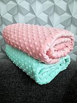 Textil - Minky - CUDDLE DIMPLE® Honeydew & Shell - 10252842_
