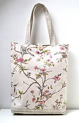 - Plátená taška so zapínaním na gombík - 10252747_