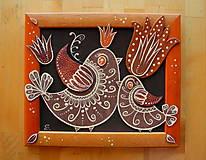 Obrazy - Folkové vtáky - 10254059_