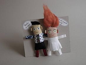 Darčeky pre svadobčanov - Nevesta + Ženích - 10253199_