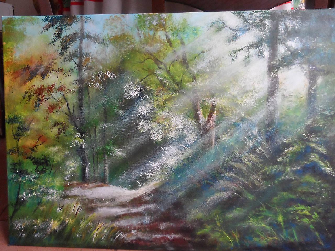V slnečnom lese
