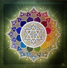 Obrazy - Mandala... Radosť a láska srdca - 10252497_