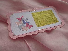 Papiernictvo - Ružový žreb ŠŤASTÍK - 10253658_