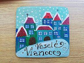 Tabuľky - Vianočná tabulka - 10252535_