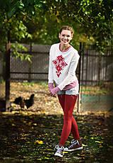 Mikiny - Mikina Red Folk skladom M - 10252596_