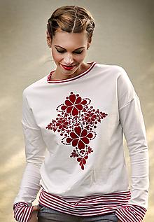Mikiny - Mikina Red Folk skladom M - 10252597_