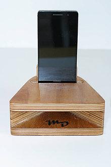 Na mobil - MDfone  Acoustics - akustický drevený reproduktor - 10253468_