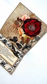 Papiernictvo - Rozkvitnuté spomienky II. - 10254163_
