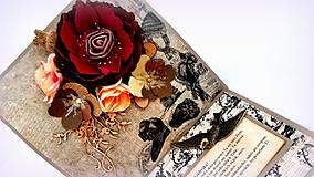 Papiernictvo - Rozkvitnuté spomienky II. - 10254164_