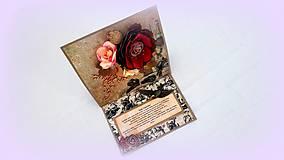 Papiernictvo - Rozkvitnuté spomienky II. - 10254165_
