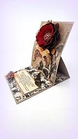 Papiernictvo - Rozkvitnuté spomienky II. - 10254166_