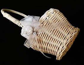 Košíky - košíček pre družičku - 10254143_
