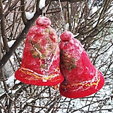 Dekorácie - Vianočný zvonček - 10253417_