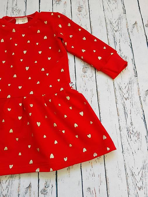 Srdiečkové šatôčky   Amanita - SAShE.sk - Handmade Detské oblečenie 4099c08ed6