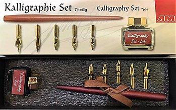 Pomôcky/Nástroje - Kaligrafická súprava 7 dielne - 10254514_