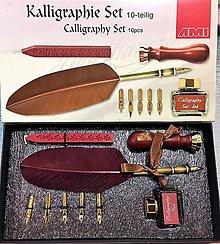 Pomôcky/Nástroje - Kaligrafická súprava 10 dielne - 10254515_
