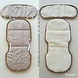 Textil - Podložka do autosedačky 9 - 36 kg 100% Merino proti poteniu a prechladnutiu CYBEX PALLAS S-FIX 9/36 KG a ROMER 15/36 KG - 10255386_