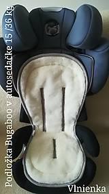 Textil - VLNIENKA Podložka do autosedačky 9 - 36 kg 100% Merino proti poteniu a prechladnutiu CYBEX PALLAS S-FIX/ ROMER - 10255628_