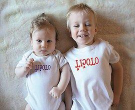 Detské oblečenie - tričká, keď nás stráži ocko - 10254936_