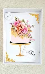 Papiernictvo - Torta plná vône.... - 10254655_