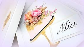 Papiernictvo - Torta plná vône.... - 10254664_