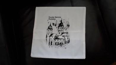 Dekorácie - Obliečka na vankúš Barbakan - 10254616_