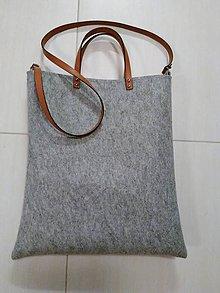 Veľké tašky - Kabelka z filcu 35 - 10254357_