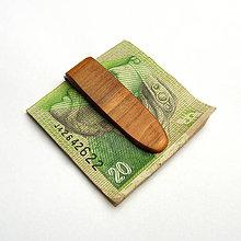 Tašky - Čerešňová spona na peniaze - 10255487_