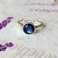 Prstene - Elegant Mother of Pearl Ring / Elegantný prsteň s perleťou /1368 - 10256575_