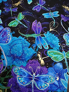 Textil - Dragonfly panel - 10255696_