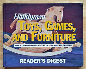 Návody a literatúra - The Family Handyman: Toys, Games and Furniture - 10256498_