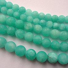 "Minerály - ""Amazonit"" matný-prír.jadeit-1ks - 10255998_"