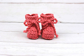 Topánočky - Koralové papučky zimné EXCLUSIVE FINE - 10255943_